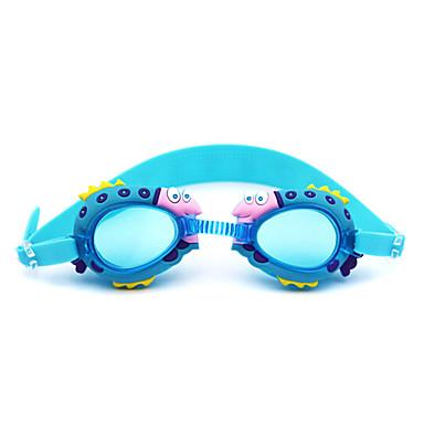 משקפי שחייה נגד ערפל ג'ל סיליקה PC אדום ורוד כחול כחול כהה אדום ורוד כחול כחול כהה