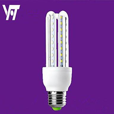 2700-6500lm E26 / E27 Lâmpadas Espiga T 16 Contas LED SMD 2835 Decorativa Branco Quente Branco Frio 220-240V