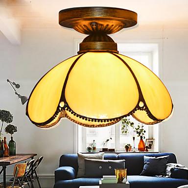 Tifani Rústico/Campestre Vintage Moderno/Contemporâneo Tradicional/Clássico Retro Lanterna Regional LED Montagem do Fluxo Luz Ambiente