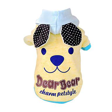 Koirat Asut Hupparit Koiran vaatteet 봄/Syksy Cosplay Muoti Halloween Keltainen Sininen