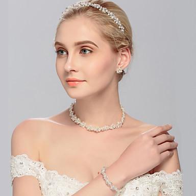 Perle pannebånd 1 Bryllup / Spesiell Leilighet / Avslappet Hodeplagg