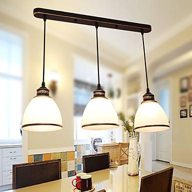 Vintage Luzes Pingente Para Sala de Jantar AC 110-120 AC 220-240V Lâmpada Não Incluída