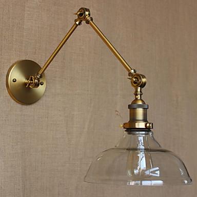 AC 100-240 40W E26/E27 Perinteinen Pronssi Ominaisuus for Lamppu sisältyy hintaan,Ympäröivä valo Varsivalaisimet Wall Light