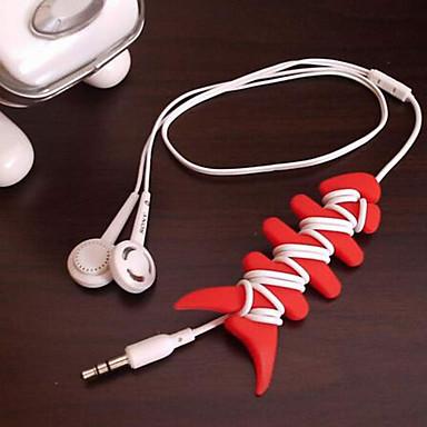 Kuulokepidike / Kaapelikela Kannettava varten Säilytys matkalla