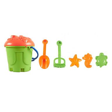 משחקי דמויות צעצוע מים צעצועים ABS 6 חתיכות מתנות