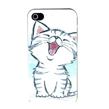 החתול הקטן תבנית קשה מקרה עבור iPhone 4 / 4s מקרים iPhone