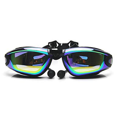 Uimalasit Sumua hylkivä Säädettävä koko UV suoja Vedenkestävä Silikageeli PC Valkoinen Harmaa Musta Others LäpinäkyvätVaaleanpunainen