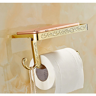 화장지 홀더 앤티크 아연 합금 1개 - 호텔 목욕