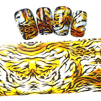 5PCS Nail Art tarra Cartoon Lovely meikki Kosmeettiset Nail Art Design