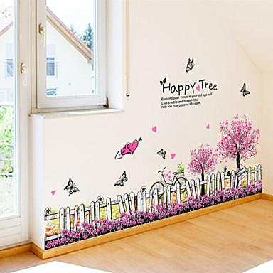 Paisagem Animais Romance Moda Formas Floral Fantasia Botânico Desenho Animado Palavras e Citações Feriado Adesivos de Parede Autocolantes