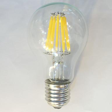 1pc 12W 1050 lm E26/E27 LED-glødepærer A60(A19) 12 leds COB Vanntett Dekorativ Varm hvit Naturlig hvit AC 220-240V