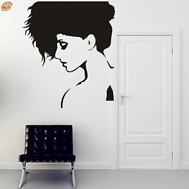 Romance / Moda / Abstracto / Fantasia Wall Stickers Autocolantes de Aviões para Parede,PVC M:42*47cm / L:55*62cm