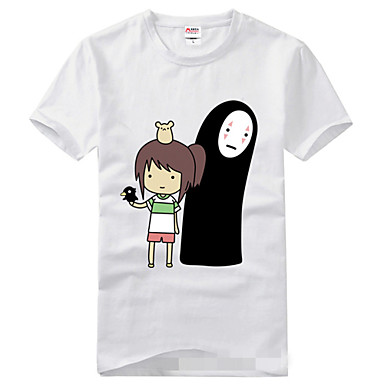 Inspirirana Spirited Away Cosplay Anime Cosplay nošnje Cosplay majica Print Kratkih rukava T-majica Za Muškarci Žene