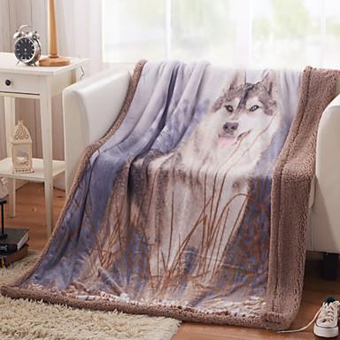 Tecido Animal Casimira cobertores