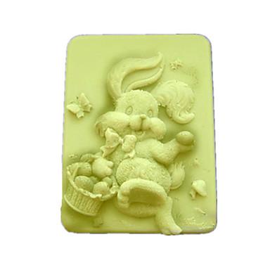 Kanin formet Bake Mold, W9.5cm x L7.6cm x H3.1cm