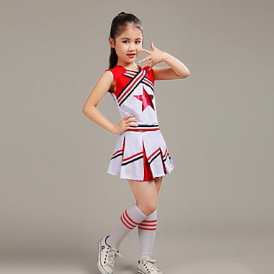 מעודדות תלבושות ילדים בסגנון המערבי ביצועים פוליאסטר 2 חתיכות תלבושות על ידי יהיה לנו ®