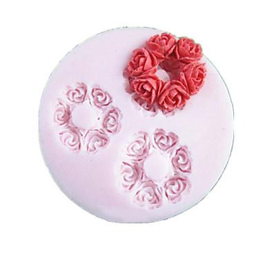 Bakeware araçları Silikon Çevre-dostu Kek / Kurabiye / Çikolota Pasta Kalıpları 1pc