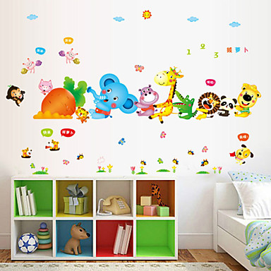 Eläimet / Piirretty / Romantiikka / Muoti / Loma / Maisema / Muodot / Liikenne / Fantasia Wall Tarrat Lentokone-seinätarrat,PVC180cm x