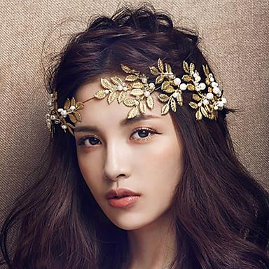 stoff pannebånd headpiece bryllupsfesten elegant feminin stil