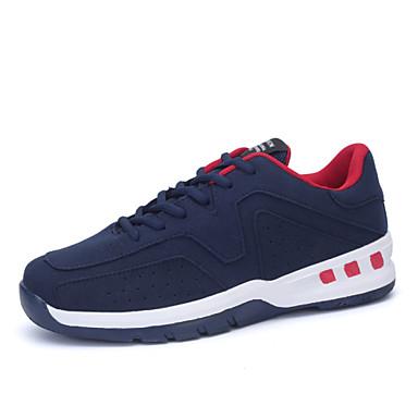 Muškarci Ljeto Udobne cipele Mikrovlakana Vezanje Crna Plava Bijela Hodanje
