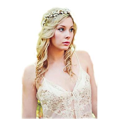 voordelige Dames Sieraden-Dames Vintage Stof Papier Haarbanden Fascinators Hoofd Sieraden Bruiloft Feest
