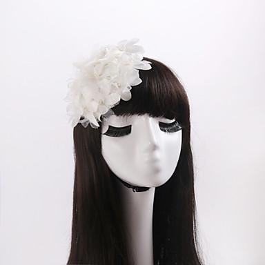 tulle-kangas kukka headpiece häät juhla elegantti feminiininen tyyli