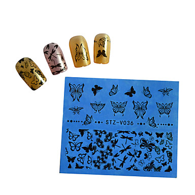 1pcs Nail Art tarra Vesi Siirto Tarra Cartoon Lovely meikki Kosmeettiset Nail Art Design