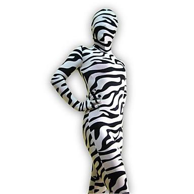 חליפות Zenta Morphsuit Ninja Zentai תחפושות קוספליי הדפס חיות /סרבל תינוקותבגד גוף Zentai ספנדקס לייקרה יוניסקסהאלווין (ליל כל הקדושים)