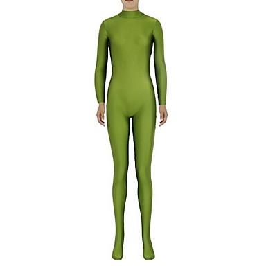 Zentai Anzüge Ninja Zentai Kostüme Cosplay Kostüme Grün Solide Gymnastikanzug/Einteiler Zentai Kostüme Elasthan Lycra Unisex Halloween