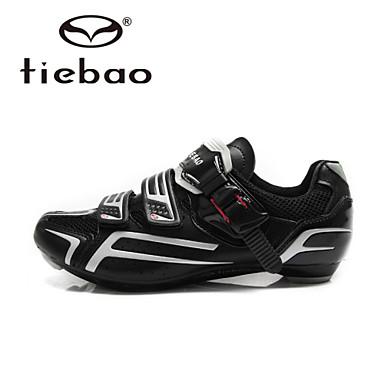 Tiebao 운동화 로드 자전거 신발 싸이클링 신발 남성의 안티 슬립 쿠션 통풍 메쉬 충격 내구성 방수 통기성 야외 성능 프랙티스 산악 자전거 자전거 사이클링