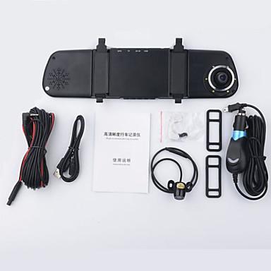 990 720p HD 1280 x 720 Full HD 1920 x 1080 DVR de carro 170 Graus 8.0MP CMOS 4.3inch Dash Cam com HDR 6 LEDs Infravermelhos Gravador de