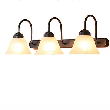 Rustikk / Hytte Baderomsbelysning Metall Vegglampe IP41 110-120V / 220-240V 60W