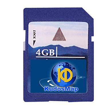 kudos gps navigation kort (4 / 8g SD-kort, for krympe-system)