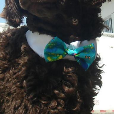 חתולים / כלבים קשר ירוק / לבן בגדים לכלבים חורף / קיץ / קיץ/אביב סרט פרפר אופנתי