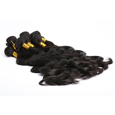 Indisk hår Krop Bølge Hårvever med menneskehår 1 Deler 0.13