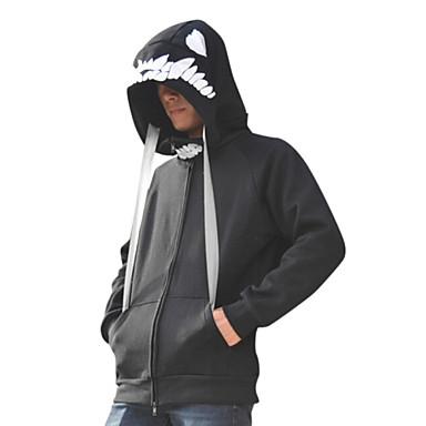 Inspiriert von Kantai Collection Cosplay Anime Cosplay Kostüme Cosplay Hoodies Druck Langarm Mantel Für Herrn / Damen