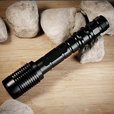 ZK60 Lanternas LED LED 1100lm 5 Modo Iluminação Zoomable / Foco Ajustável / Resistente ao Impacto Campismo / Escursão / Espeleologismo /