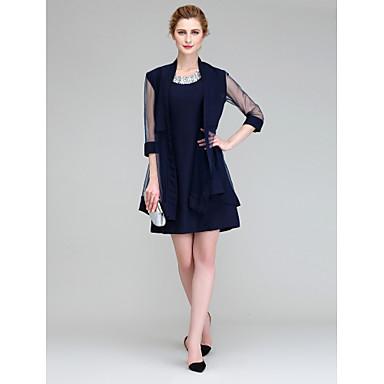 Chiffon Wedding / Party / Evening Women's Wrap With Coats / Jackets