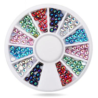 1wheel colorful ab nail decorations Nail Smykker Klassisk Smuk Daglig Klassisk Smuk Høy kvalitet