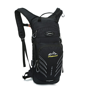 15L L 백패킹 배낭 자전거 배낭 배낭 캠핑 & 하이킹 등산 레저 스포츠 승마 여행 사이클링 달리기 조깅 방수 방수 지퍼 먼지 방지 방습 충격방지 Floating 착용할 수 있는 다기능 나이론 옥스포드 600D 립스탑 방수 재질 Terylene