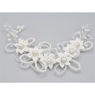 Kristal Umjetno drago kamenje Legura Trake za kosu 1 Vjenčanje Special Occasion Glava