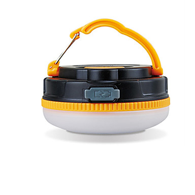 billige Lommelykter & campinglykter-1 Lanterner & Telt Lamper 180 lm LED LED emittere 1 lys tilstand Vanntett Oppladbar Camping / Vandring / Grotte Udforskning
