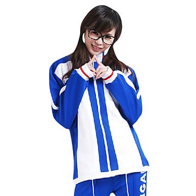 Innoittamana Prince of Tennis Ryoma Echizen Anime Cosplay-asut Cosplay T-paita Painettu Lyhythihainen Trikoot Käyttötarkoitus Miehet
