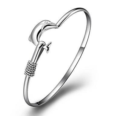 Narukvice Nakit za gležanj Glina Vjenčanje Jewelry Poklon Srebrna,1pc