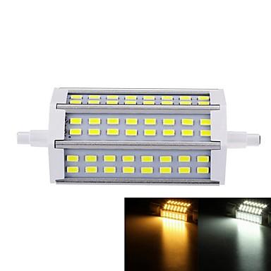 SENCART 7W 550-600lm R7S LED-valonheittimet Upotettu jälkiasennus 48 LED-helmet SMD 5730 Himmennettävissä Lämmin valkoinen / Kylmä