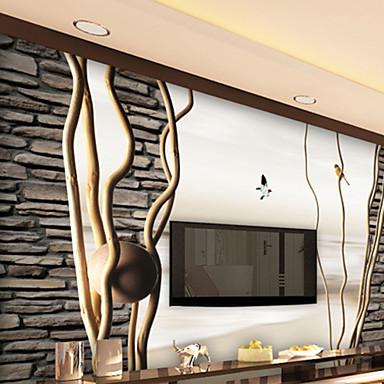 Art Deco Haus Dekoration Luxus Wandverkleidung, Other Stoff Klebstoff erforderlich Wandgemälde, Zimmerwandbespannung