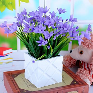 1 haara silkki orkidea keinotekoinen kukka sisustus häät tarjonnan