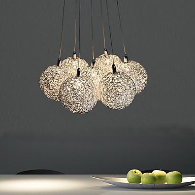 7-Light Cluster Pendant Light Ambient Light - Mini Style, 110-120V / 220-240V Bulb Included / G4 / 20-30㎡