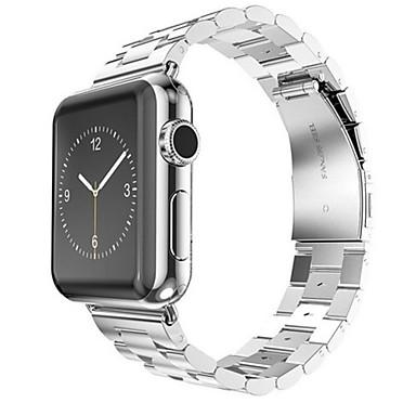 Uhrenarmband für Apple Watch Series 3 / 2 / 1 Apple Handschlaufe Schmetterling Schnalle Edelstahl