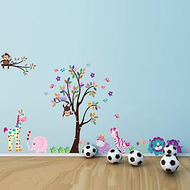 Dekorative Mur Klistermærker - Fly vægklistermærker Landskap / Dyr Stue / Soverom / Baderom / Kan fjernes